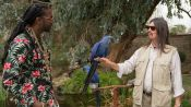 French Montana & 2 Chainz Make Friends With a Parrot