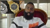 James Harden Owns the Iciest Watch You've Ever Seen
