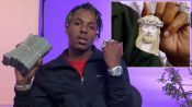 Rich the Kid Keeps Blinged-Out Crosses on Him to Stay Blessed