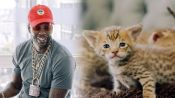 2 Chainz Plays with $165,000 Kittens