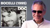 Andrea Bocelli Runs Us Through His Iconic Tracks