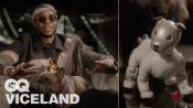 2 Chainz Plays with a $3K Robot Dog