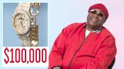 E-40 Shows Off Some of His Favorite Jewelry