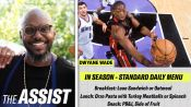 How Dwyane Wade's Chef Created His NBA Diet