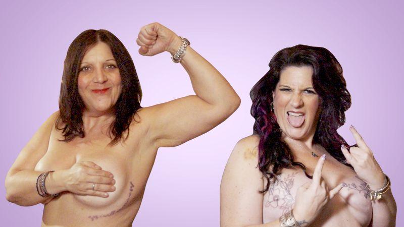 Amateur breast video
