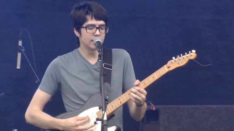 Watch Car Seat Headrest Perform Unforgiving Girl At Pitchfork Music Festival