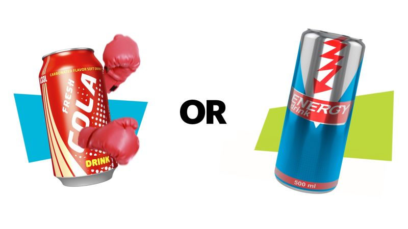 Watch Which is Worse | Soda vs. Energy Drink | SELF Video | CNE