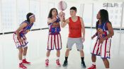 A Regular Guy Tries to Keep Up With the Harlem Globetrotters