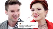 Bella Thorne & Patrick Schwarzenegger Compete in a Compliment Battle
