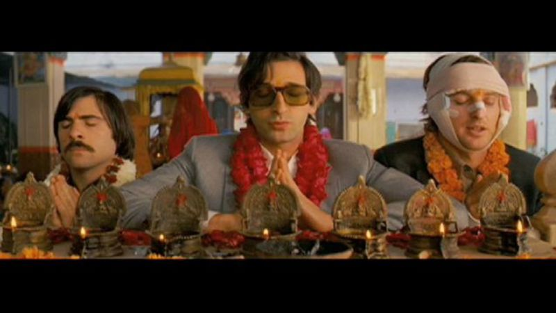 The darjeeling limited hot scene