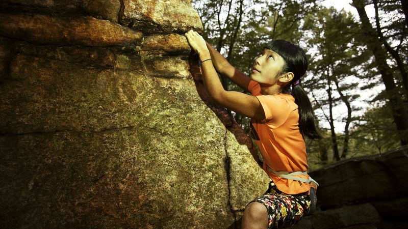 Naked rock climbing woman asian, nude indian glamour models