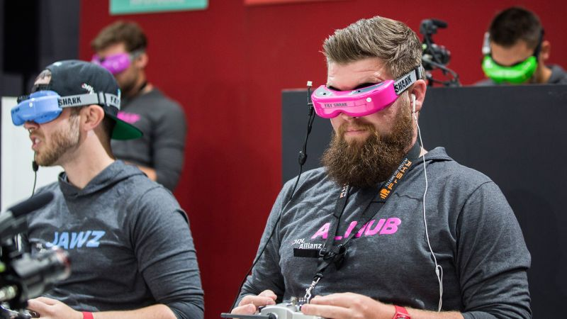 The Trippy, High-Speed World of Drone Racing | The New Yorker