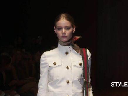 543326b5e1b Gucci Spring 2015 Ready-to-Wear - Vogue Videos - The Scene