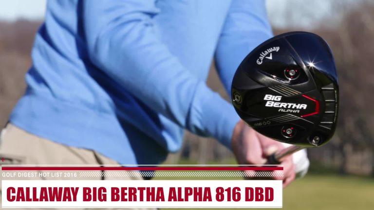 Callaway Big Bertha Alpha 816 Double Black Diamond Review Drivers