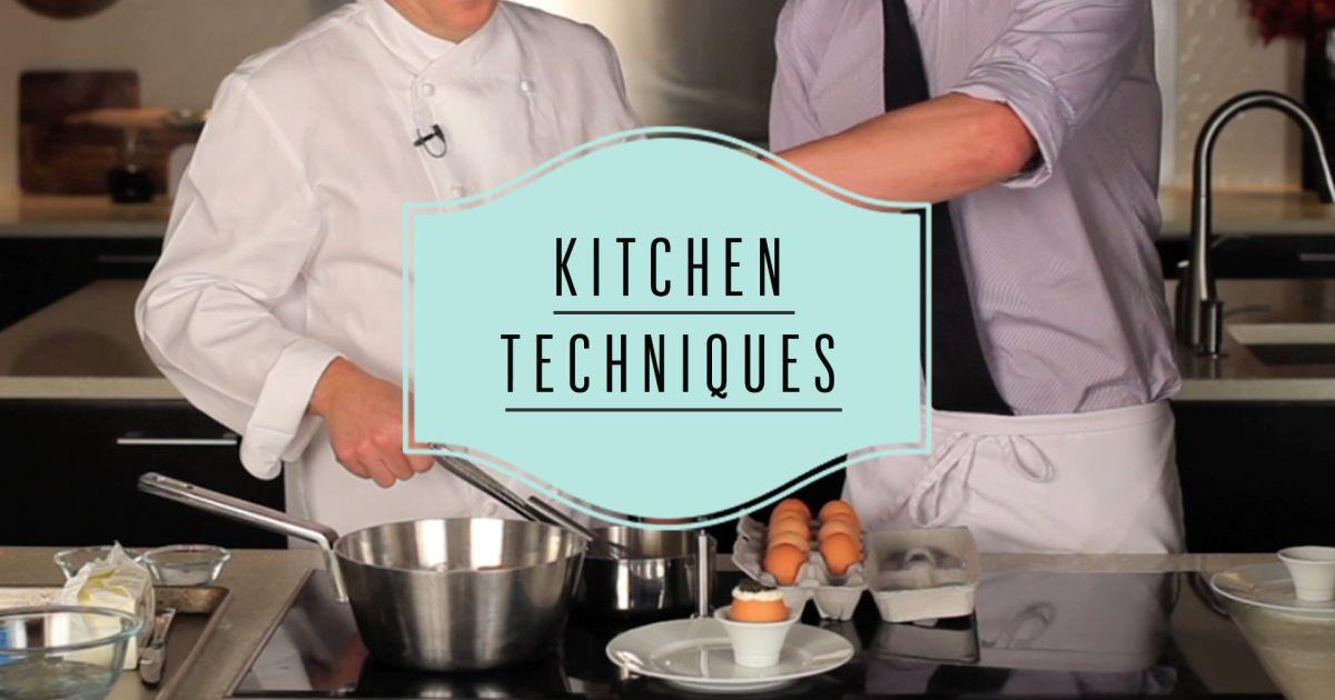 Bon Appétit: Kitchen Techniques Video Series