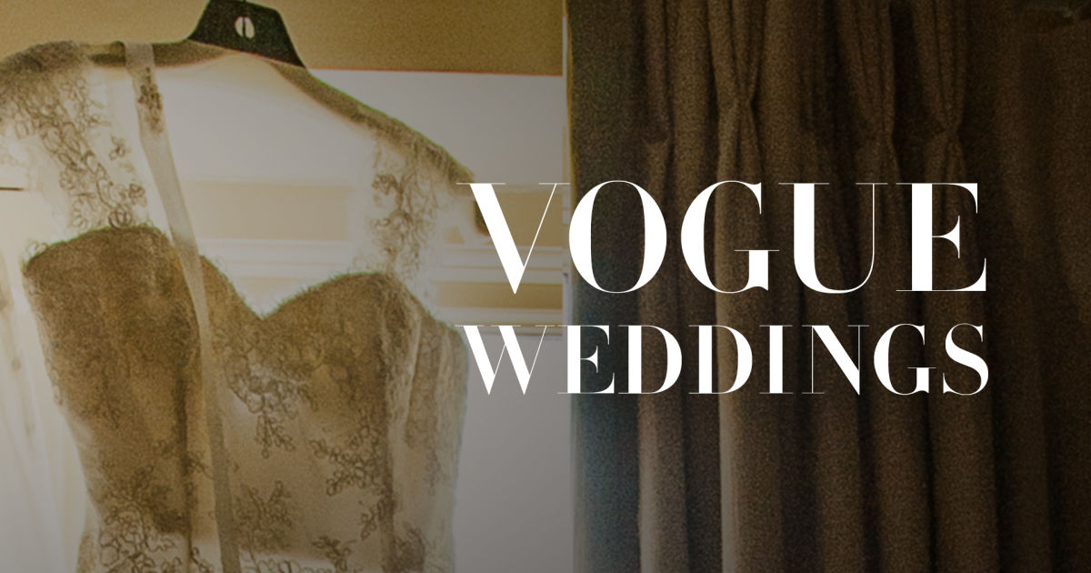 Image result for Vogue Weddings video
