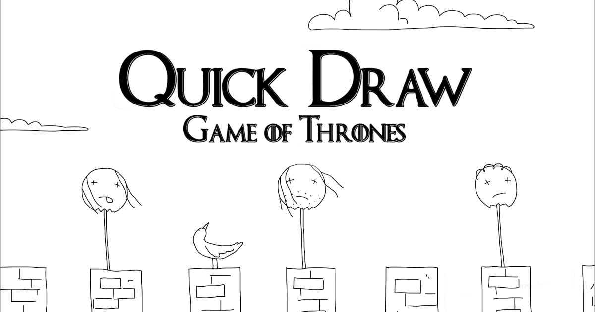 drawing game of thrones Vanity Fair Quick Draw Video Series
