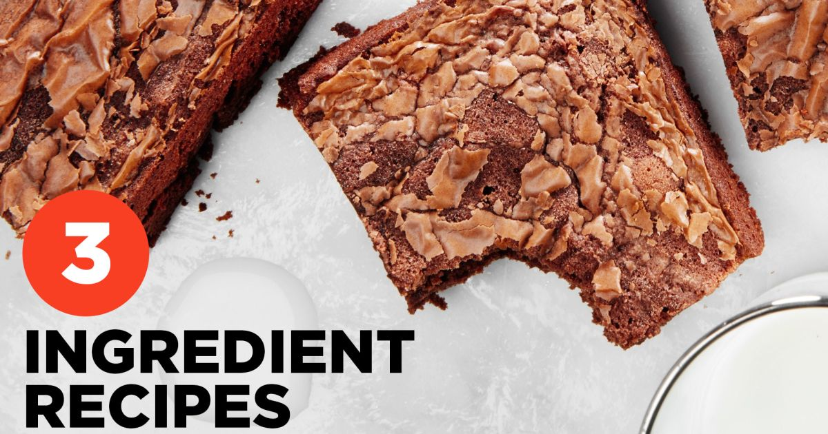 Epicurious: 3-Ingredient Recipes Video Series
