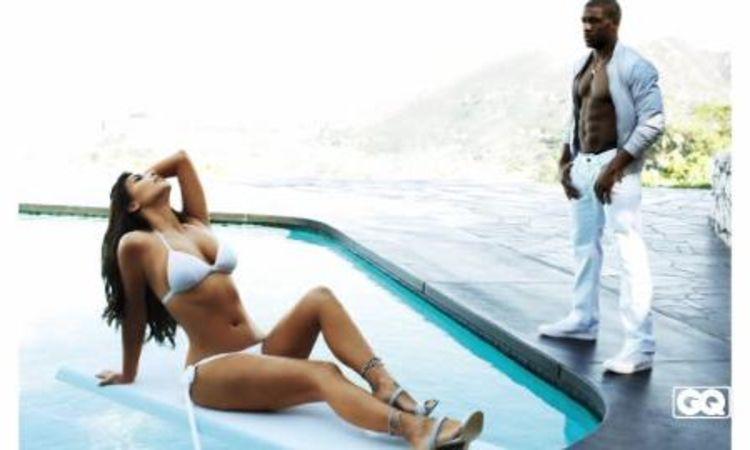 Kim Kardashian strips off for GQ magazine cover