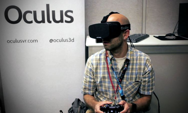 E3 Expo - Oculus Rift VR Headset 1080p Version - WIRED Videos - The ...