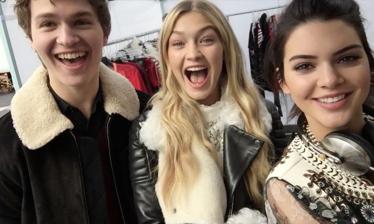 ee10a98d8f Kendall Jenner and Gigi Hadid Make The Selfie Stick Cool - Vogue Videos -  The Scene
