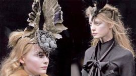 Alexander McQueen Bird's Nest Headdress