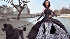 California Girl Katy Perry in Paris Couture