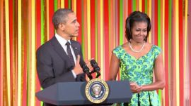 Epicurious @ The White House: The President of the United States, Barack Obama, Speaks @ the Kids' State Dinner