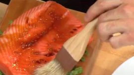How to Make Northwestern Cedar-Planked Salmon