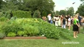 Epicurious @ the White House: The Kitchen Garden Tour Led by Sam Kass