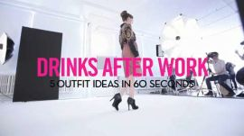 5 Outfit Ideas in 60 Seconds: What to Wear to Drinks After Work