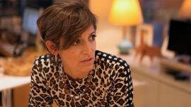 Glamour Editor in Chief Cindi Leive at the NYC Fashion Week Runway Shows (Carolina Herrera + Theskyns Theory)