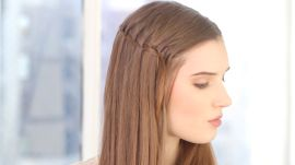 Holiday Hairstyle Alert! Here's How to do a Waterfall Braid (It's Perfect for Parties)