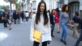New Ways to Wear Sweaters, Skirts and Jackets For Fall, Spotted on the Streets of Paris Fashion Week: Tricks of the Trends