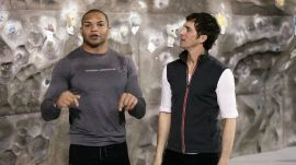 NFL Star Brendon Ayanbadejo Talks Life and Football at Chelsea Piers