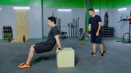 TABATA: Chest & Triceps Workout