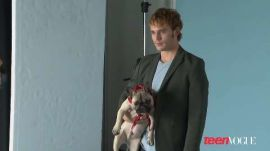 Sam Claflin's Teen Vogue Photo Shoot