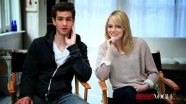 Emma Stone and Andrew Garfield's Teen Vogue Cover Shoot