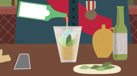 How to Make the Perfect Pimm's Cup (And Break the Dry Spell With Your Wife)