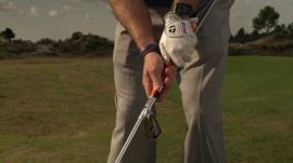 Chipping With Two Clubs