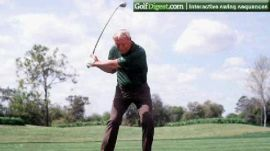 Arnold Palmer's Signature Face-on Swing