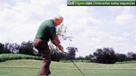 Arnold Palmer's Signature Down the Line Swing