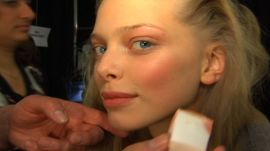 Allure Backstage Beauty: Ice Queen, Fall 2008
