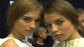 Allure Backstage Beauty: Pulled Back Hair, Fall 2008