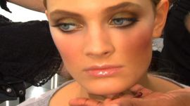 Allure Backstage Beauty: Fake Lashes, Spring 2009