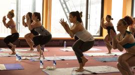 The SRSLY. Girls vs. Bikram Yoga