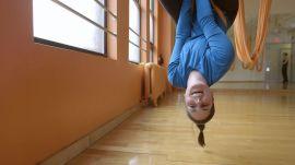 Laura Prangley vs. Aerial Yoga