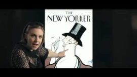 Lena Dunham Introduces The New Yorker iPhone App