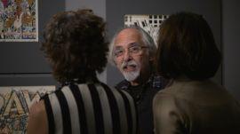 Art Spiegelman Tours His Retrospective