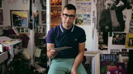 Jack Antonoff on Mustaches and Tie-Dye